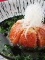 料理メニュー写真あざみ名物トマトの揚げ出し