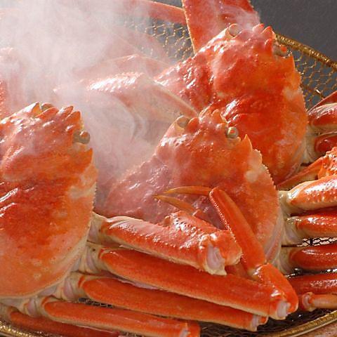 贅を尽くして選抜いた素材がかもしだす風味豊かなかに料理・・。