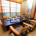 【御会食、ご接待に】 数寄屋造りの「芭蕉」をはじめ粋な個室はご会合に