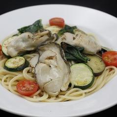 オイスターと季節野菜のスパゲッティ Sサイズ