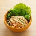 料理メニュー写真ゴボウの明太サラダ