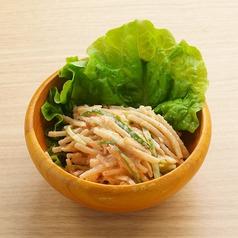 ごぼうの明太サラダ