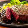 料理メニュー写真黒毛和牛イチボステーキ(150g)