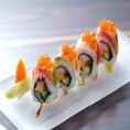 ◆日本酒・焼酎にぴったりの魚介。みずみずしい逸品。料理長自らが食べ比べ、日本酒や、焼酎との相性をひとつひとつ厳選致しております。
