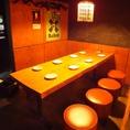 テーブル8名席☆一番奥のお席でリラックス☆