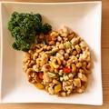 料理メニュー写真鶏肉とカシューナッツ炒め