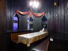 お席60席ございます!普段のお食事からパーティーまでご利用シーンに合わせてご利用ください。