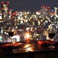 【大阪の夜景が眺められる高さ】