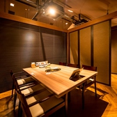 人気の半個室席。2名様~最大36名様まで対応可能。