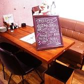 黒板に本日のオススメを書いています!料理だけでなくお酒もメニューにないものを仕入れていることがありますので、おたずねください!