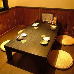 【個室 6名/10名/14名/36名様用】お客様の人数に合わせ、ご案内いたします。カウンター席・テーブル席・お座敷席など、総席数80席を完備!ご宴会最大36名様までOK!お席の詳細・人数・ご予算など、お気軽にお問い合わせください!※写真は一例です