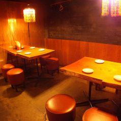 テーブル4名席☆少人数宴会も◎