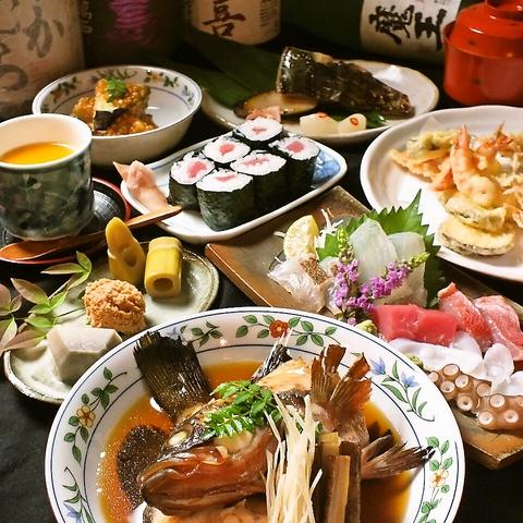 旬の魚と日本酒を愉しむ…毎日違った魚をお楽しみいただけます。