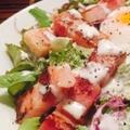 料理メニュー写真【カリカリベーコンのシーザーサラダ】