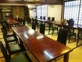 大宴会場 最大80名収容 座敷・テーブルお選び頂けます。