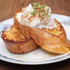 料理メニュー写真フレンチトースト