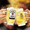 世界各国のビールなど種類豊富にお酒もご用意しております!昼飲み、女子会、ママ会など幅広いシーンに◎
