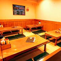 お座敷席は20名様までご対応可能です。