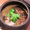 料理メニュー写真鯛めしの土鍋ごはん(2合)