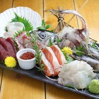 <こだわりの鮮魚!!>新鮮魚介とお酒をお手頃価格で!