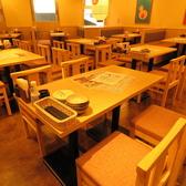 4名様テーブル席♪カップルやお友達とお気軽にご利用ください!