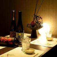 天ぷらに良く合う日本酒を全国各地から料理長が厳選!