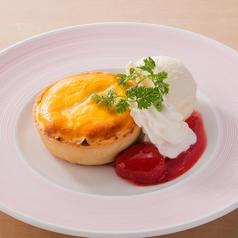 料理メニュー写真自家製チーズタルト