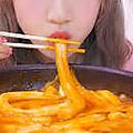 料理メニュー写真ブンモジャ入りチーズトッポギ