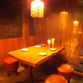 テーブル4名席☆使いやすいお席