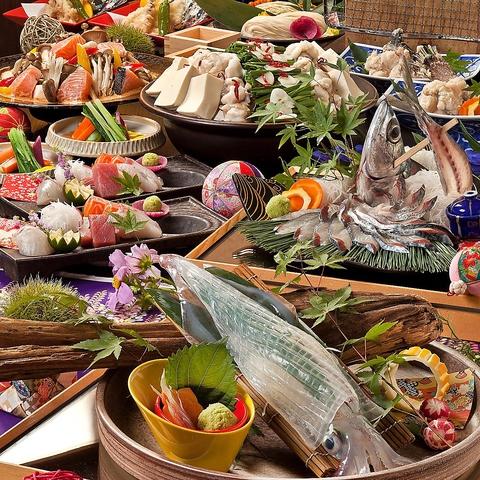 『新鮮活魚』×『旬な素材の炉端焼き』×『日本酒』!九州の新鮮な食材をご提供します