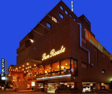 ホテルサンルート松山 ビアガーデンの雰囲気1