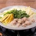 料理メニュー写真鶏つくね鍋 【博多風塩味】又は【あごだし醤油味】 1人前