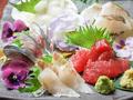料理メニュー写真お刺身盛り合わせ5種盛り (1人前)