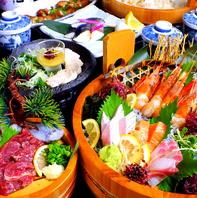 旬のお料理と職人技が光る逸品!