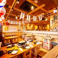 昭和レトロな雰囲気が落ち着ける空間です。※写真は系列店