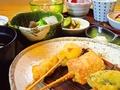 料理メニュー写真【ランチ】串揚げランチ