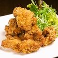 料理メニュー写真鶏ももから揚げ