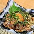 料理メニュー写真地鶏ユッケ