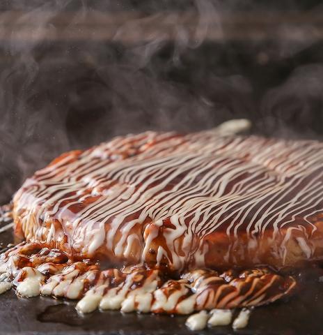 ふんわりおいしさ凝縮の新食感お好みモダン!お好み焼きの概念、変わります。