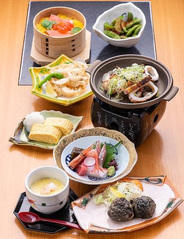 ◆◇5500円ジャストコース◇◆【料理8品+120分飲み放題付】