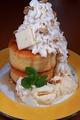 料理メニュー写真籠太のメープルバターパンケーキ