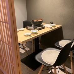 季節感と趣のあるくつろぎの個室を各種ご用意しております。 接待などのビジネスシーンに◎人目を気にせず、安心してご利用いただけます。東梅田駅から徒歩5分◎