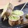 料理メニュー写真【福岡】野菜巻串 ~レタスの豚肉巻き~(2本)