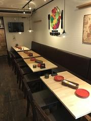 テーブル席は約20名様までの団体様にもご利用いただけます!