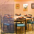 半個室テーブル席(7名~10名様)