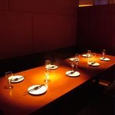 大人数収容の完全個室が登場しました! 飲み会やコンパで需要の高い8名~10名には最高の空間!