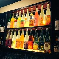 種類豊富な果実酒♪