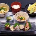 料理メニュー写真お造り天ぷら御膳