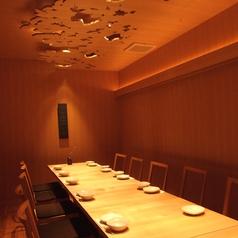 落着いた雰囲気の個室は宴会や接待におすすめ!