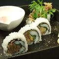 料理メニュー写真すきやきロール寿司
